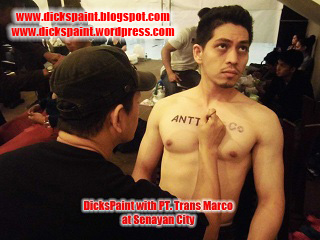 body painting, launching product, jakarta