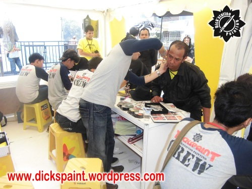dickspaint tattoo temporary metallica GBK 20 upload