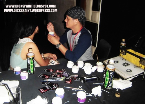 Body Painting Glow UV Launching Jakarta