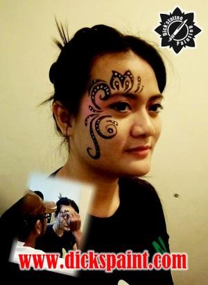 face painting jakarta oppo