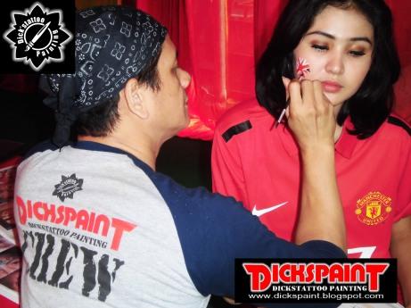 Face Painting ahmad satrio Gathering jakarta 1