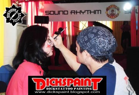 Face Painting ahmad satrio Gathering jakarta 10