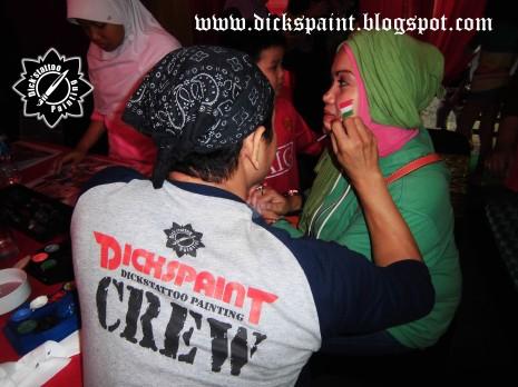 Face Painting ahmad satrio Gathering jakarta 12