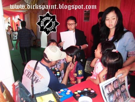 Face Painting ahmad satrio Gathering jakarta 13