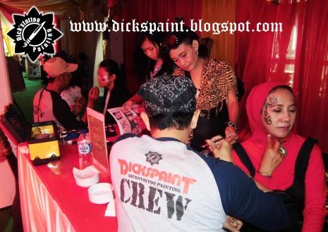 Face Painting ahmad satrio Gathering jakarta 14
