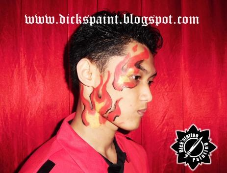 Face Painting ahmad satrio Gathering jakarta 3