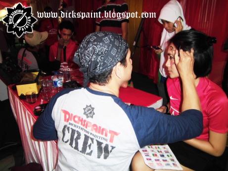 Face Painting ahmad satrio Gathering jakarta 4