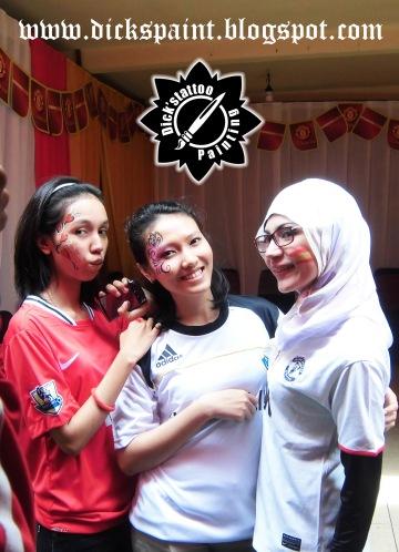 Face Painting ahmad satrio Gathering jakarta 5