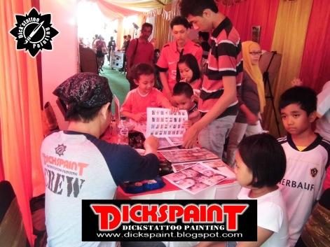 Face Painting ahmad satrio Gathering jakarta 6