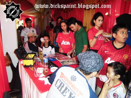 Face Painting ahmad satrio Gathering jakarta 7