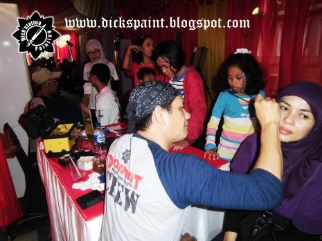 Face Painting ahmad satrio Gathering jakarta 9
