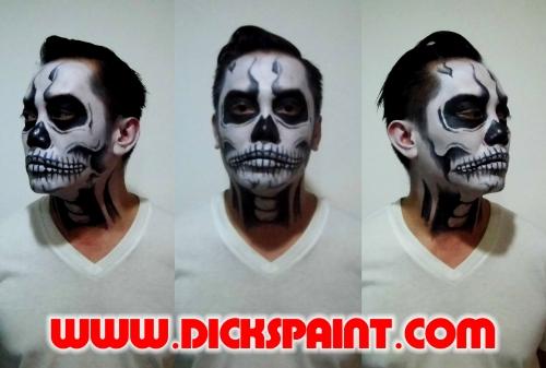 face painting jakarta halloween