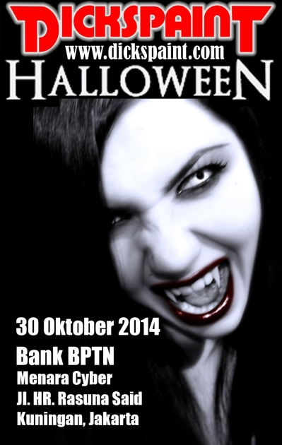 facepainting halloween jakarta