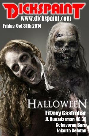 face painting horror zombie jakarta
