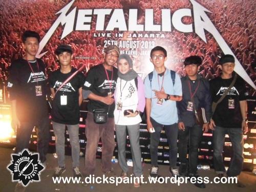 metallica concert upload
