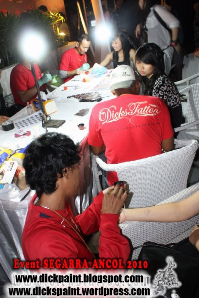 Face Painting, Body Painting Temporary Tattoo Birth Day party Seggara Ancol Jakarta
