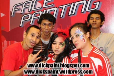 Face Painting Family Gathering jakarta Indo LIMA