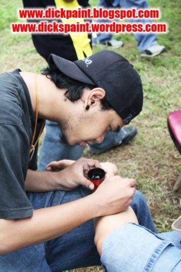 face painting, family gathering, santos, jakarta 1
