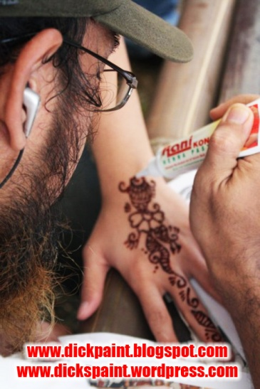 face painting, family gathering, santos, jakarta