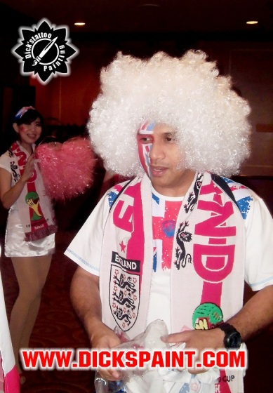 Face painting Football Wordcup 2014
