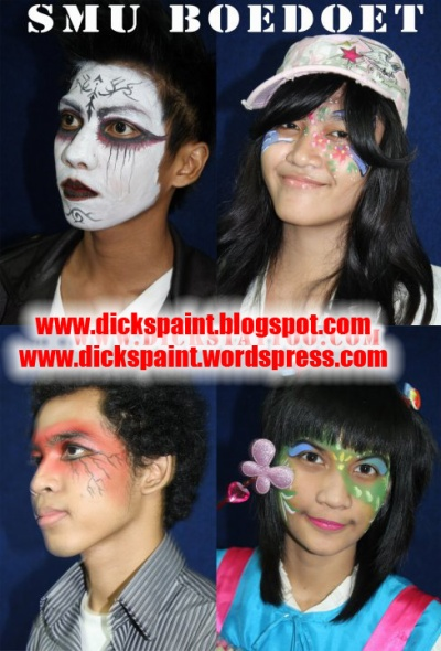 face painting, graduation, Boedoet, jakarta 2