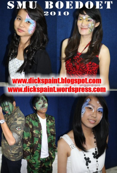face painting, graduation, Boedoet, jakarta 3