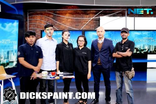 face painting net tv jakarta