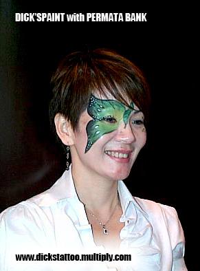face painting permata bank 7, jakarta