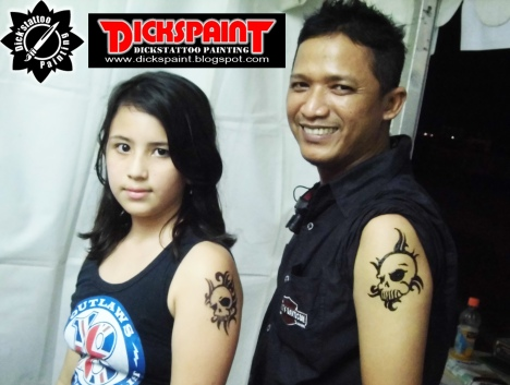 harley davidson day temporary tattoo 2