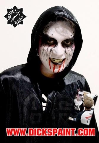 facepainting halloween vamire jakarta