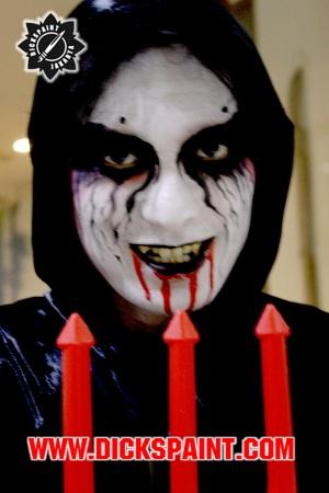 facepainting halloween vampire jakarta