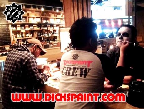 Face Painting helloween GI Jakarta 4 bb