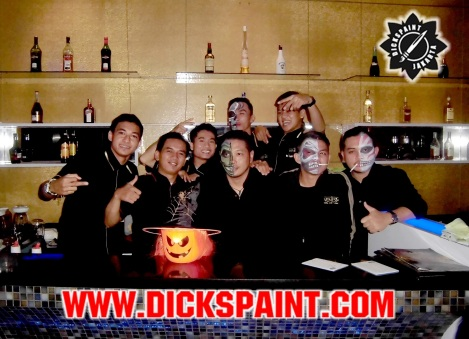 facepainting halloween party venesia bsd tangerang