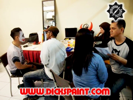 Facepainting Heloween Dickspaint with GIlang Ramadhan 13
