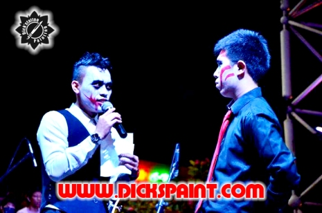 Facepainting Heloween Dickspaint with GIlang Ramadhan 22