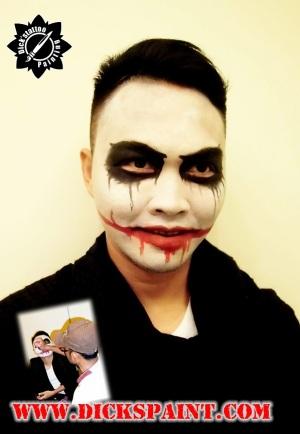 Face Painting Joker Sudirman Jakarta