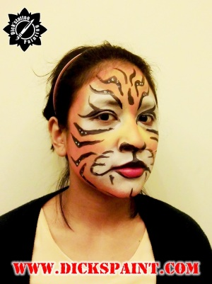 Face Painting Tiger Sudirman Jakarta