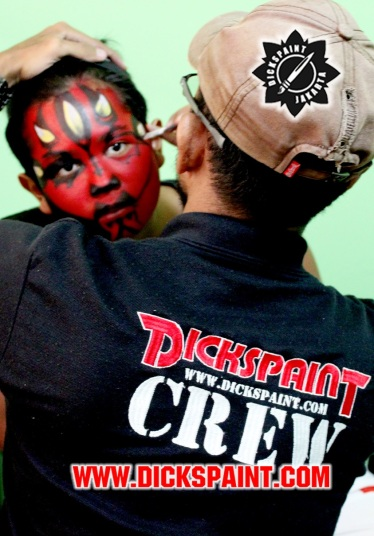 Face Painting Darth Maul Star Wars