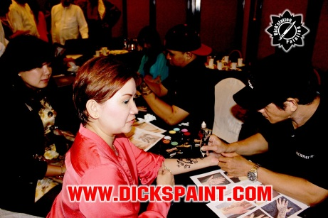 facepainting henna jakarta