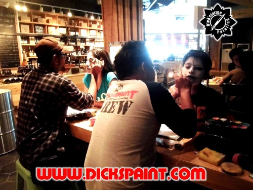 face painting helloween party jakarta