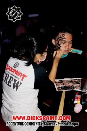 Face Painting Puncak Bogor
