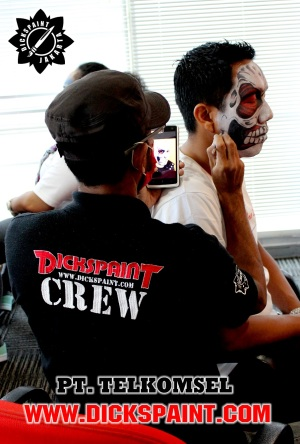 Face Painting Telkomsel Jakarta