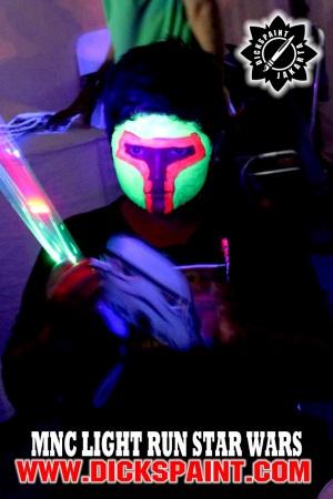 Face Painting UV Glow Jakarta