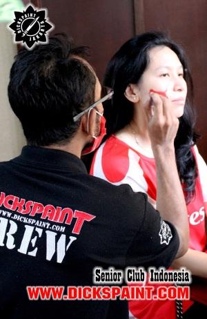 Face Painting Senior Club Indonesia jakarta