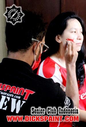 Face Painting Football Jakarta