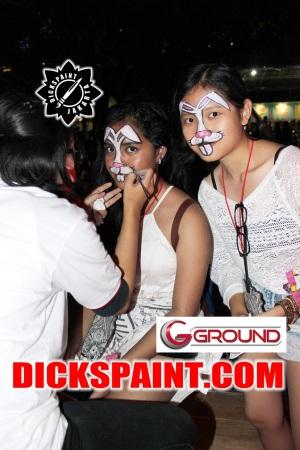 Face Painting Jakarta rabbit