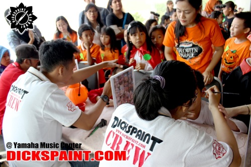 Face painting Kids Yamaha jakarta