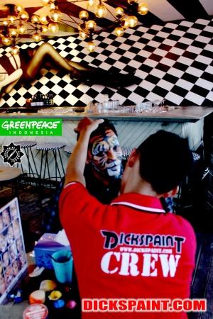Face Painting Tiger Jakarta