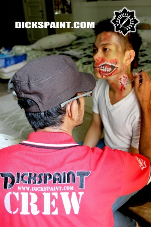 Face Painting Zombie Death Jakarta