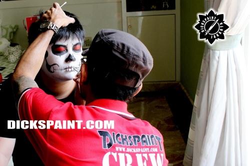 Make Up Skull Death Jakarta